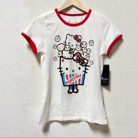 a3aaa0fdf tokidoki Tops | Brand New Pop Star Hello Kitty Tee | Poshmark